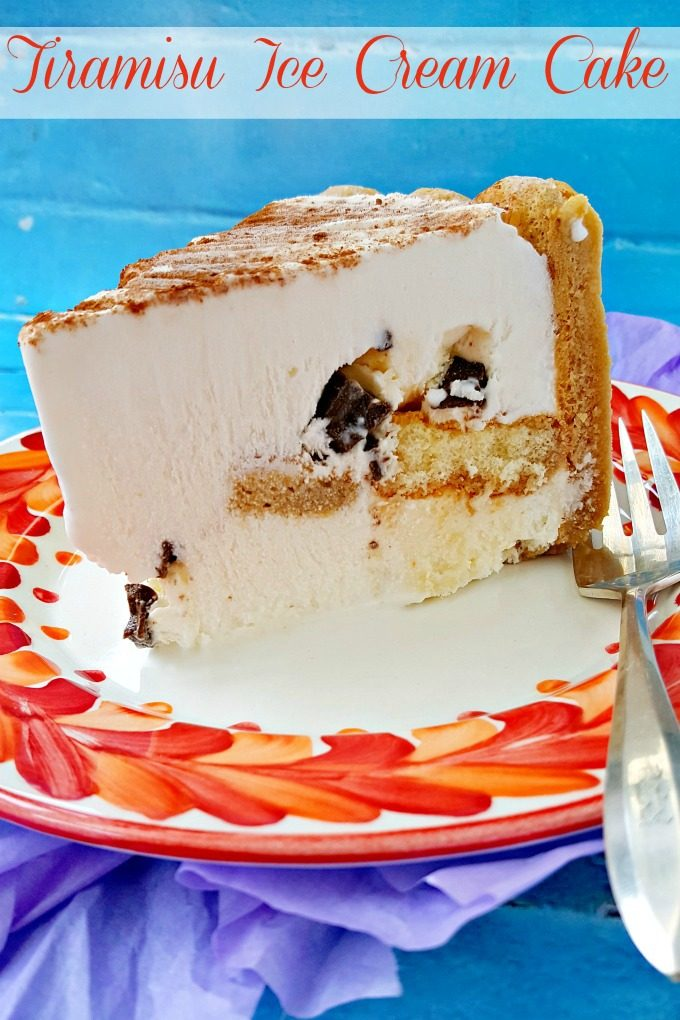 Taking the guesswork out of that cookie layer, Curious Creamery Tiramisu Ice Cream Cake has the flavors of a decadent tiramisu in a quick and easy ice cream cake form.