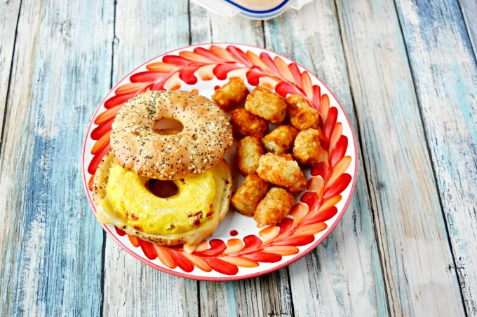 Make Ahead Bagel Sandwich