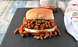 Tuscan Chicken Sloppy Joes