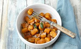 Homemade Pumpkin Gnocchi with Sage Butter Sauce