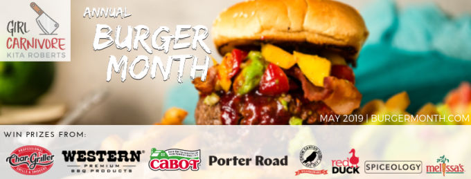 Kentucky Burger with Bourbon Onions and Pimento Beer Cheese is an homage to my family and childhood memories.  From the pimento cheese combined with beer cheese to the bourbon onions and pickled okra topping everything on this burger reminds me of home. #BurgerMonth