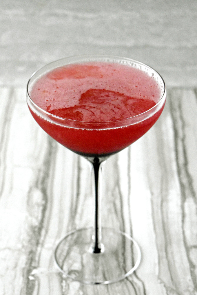 My Tamarillo Tini has the delicious South American fruit.  The flavor is slightly sweet with amazing flavor your family and friends will enjoy.
