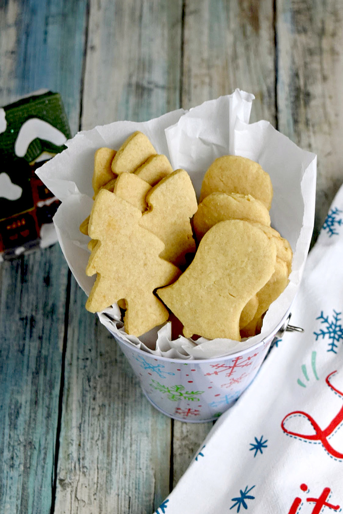 Buttery and delicious, Macadamia Nut Shortbread Cookies have that rich shortbread cookie with the hint of nuttiness to them. They're easy to make, and are top on my list of favorite cookies!
