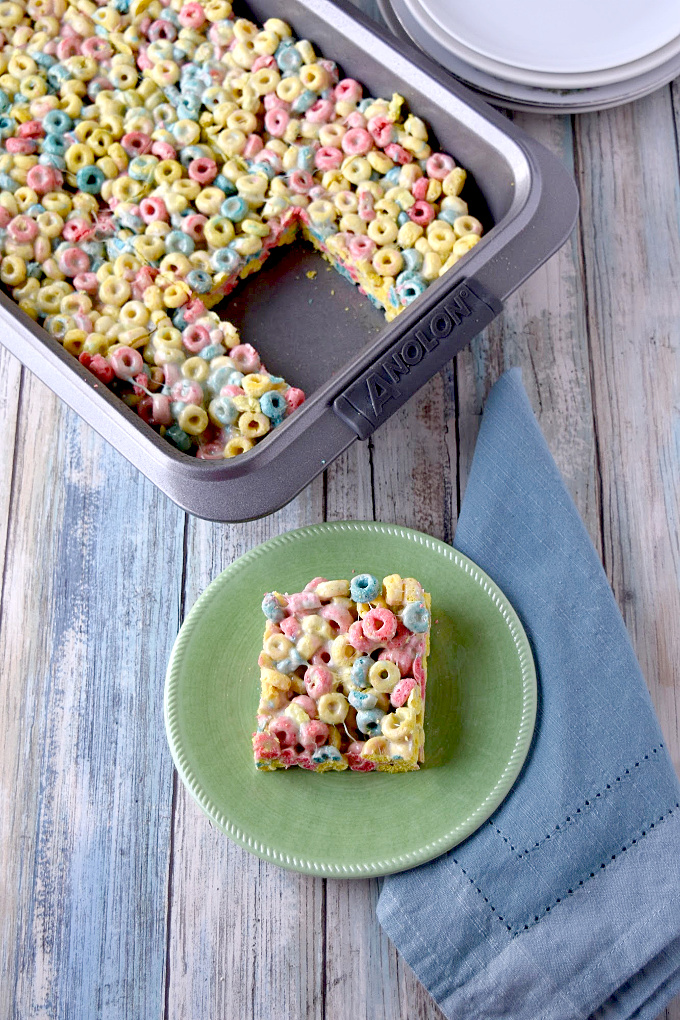 PEEPS Crispy Treats are super easy and fun to make with your kids. Chop up some PEEPS, stir in some marshmallows, and then add some PEEPS cereal for a double whammy of PEEPS fun and color!