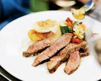Flank Steak with Warm Moroccan Spices