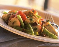 Marinated Potato-and-Artichoke Salad