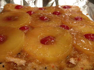 Healthier Pineapple Upside Down Cake