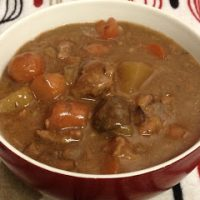Slow Cooking Guiness Beef Stew