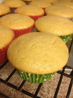 These Pina Colada Cupcakes are flooded with pineapple and coconut flavor. And they're healthy-ish, too!