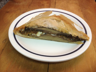 Crispy phyllo dough is the wrapper for this vegetable version of the popular dish. Portobello Wellingtons are hearty enough for te most devout carnivores in your life.