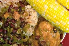 Green Chile Chicken and Rice
