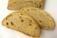 Turkish Pistachio and Apricot Bread