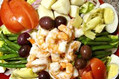 Nicoise Shrimp Salad