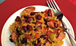 Quick One Pot Red Beans and Rice for #SundaySupper