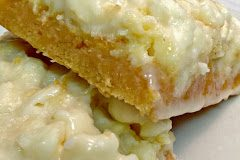 Orangesicle Cream Cheese Bars
