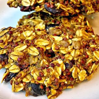Yup! I said cookies for breakfast! These Cranberry Pumpkin Breakfast Cookies are full of fiber and protein to keep you full.