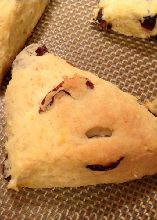 SRC – Reveal Cherry Berry Scones