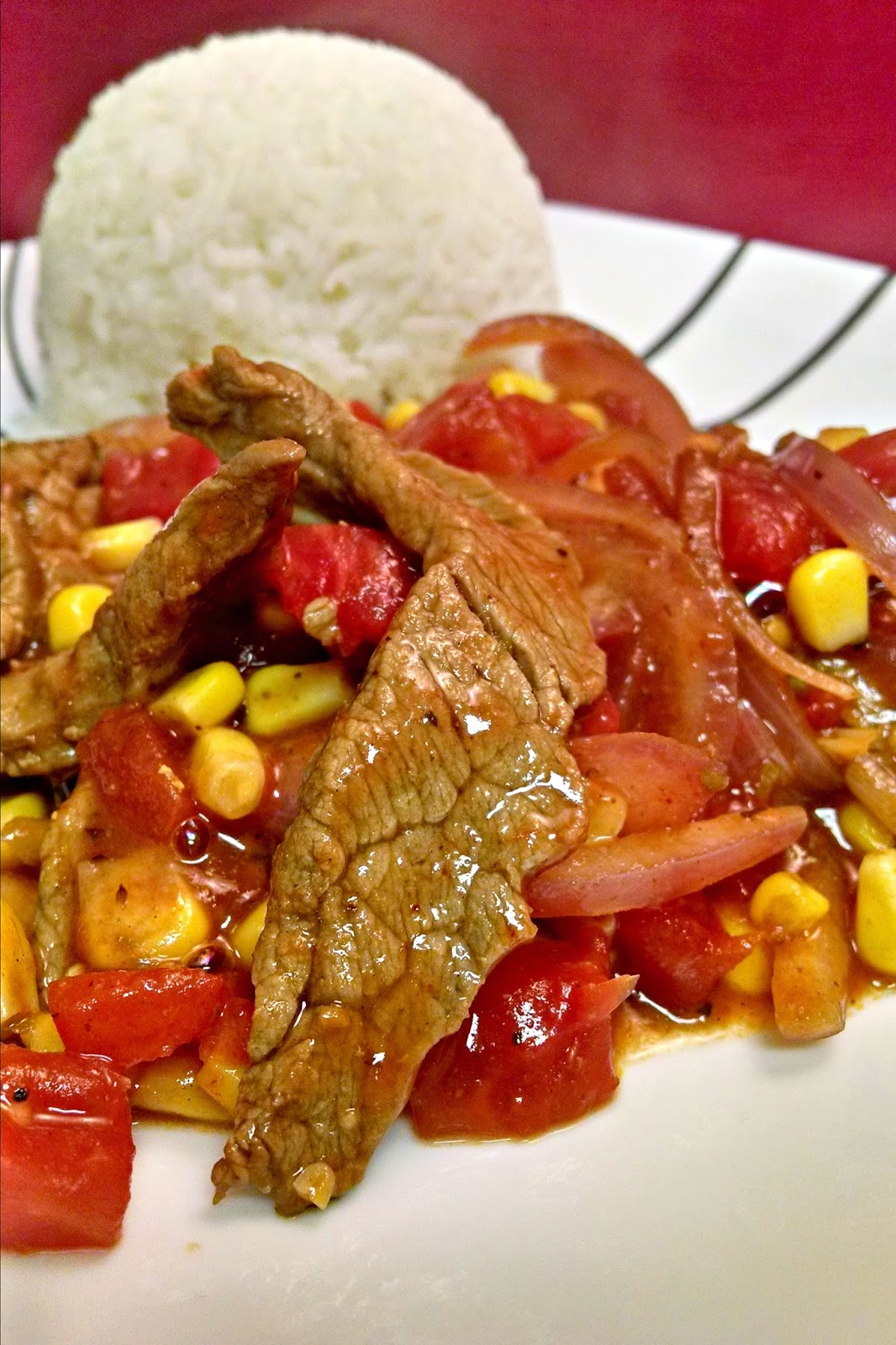 A mashup of Tex-Mex flavors combined with the quick and easy stir-fry style of Asian cuisine.  This Tex Mex Stir Fry #recipe is hubby approved and I'm sure it will be kid approved with your family, too!