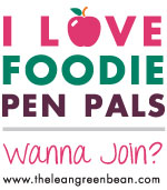 Foodie Pen Pals REVEAL!  YAY!
