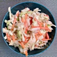 Green Onion Coleslaw