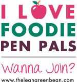 #FoodiePenPals REVEAL!