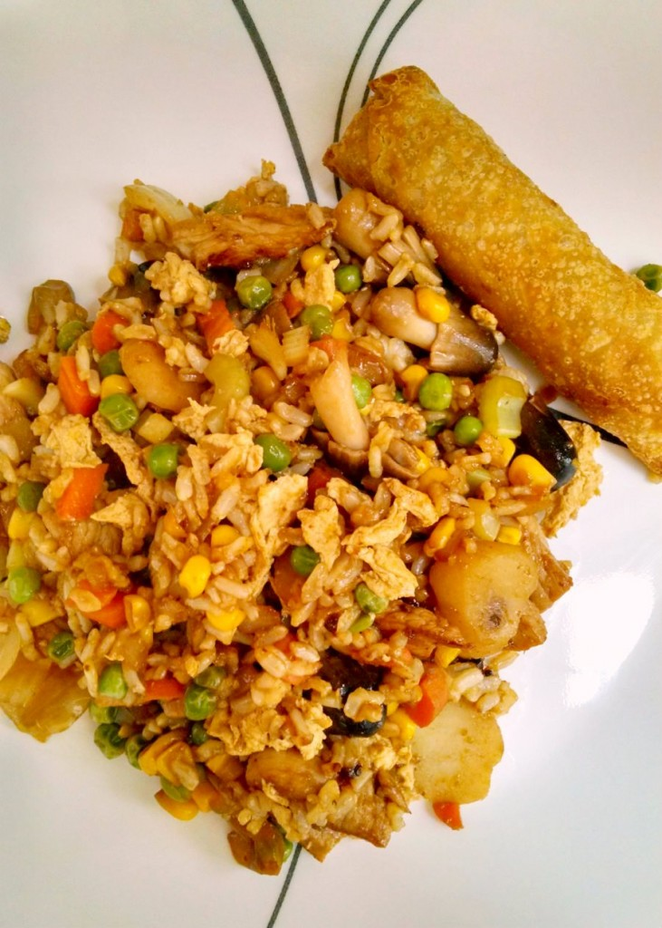 A Kitchen Hoors Adventures | Easy Pork Fried Rice