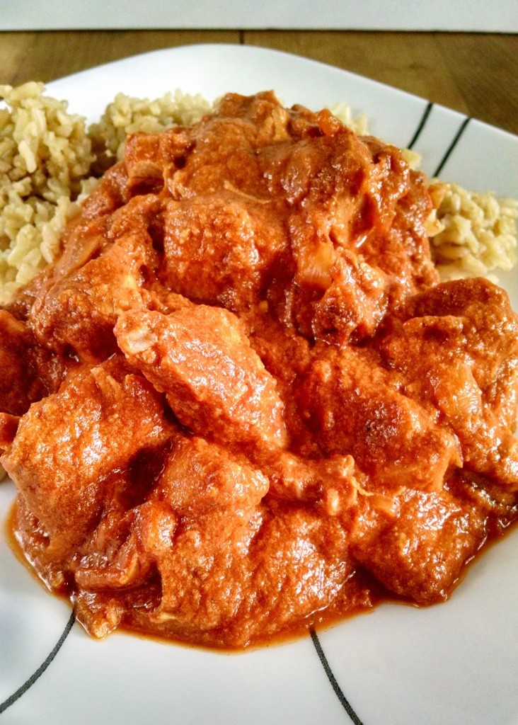 "Homemade garam masala spices up this classic dish. Typically made in a tagine, my ""tagine"" is my slow cooker. Cream, yet spicy, this Slow Cooker Chicken Tikki Masala is great for any night of the week."