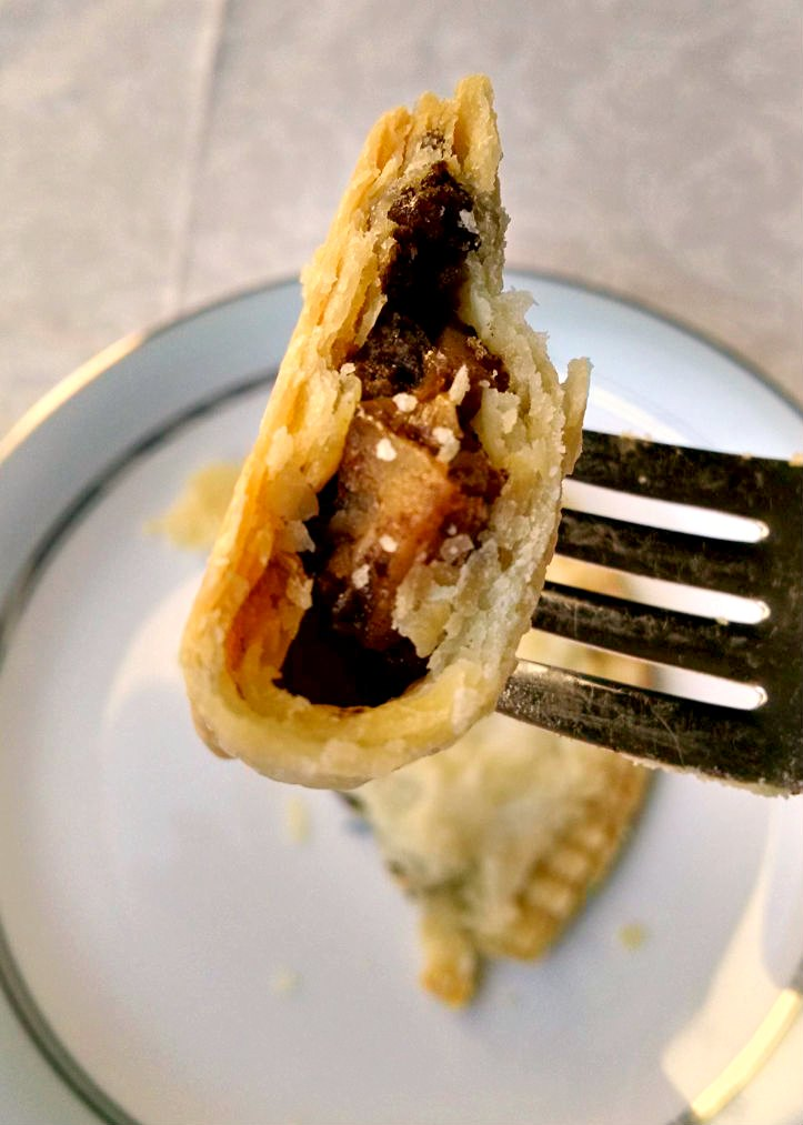 Curried Duck Mini Meat Pies