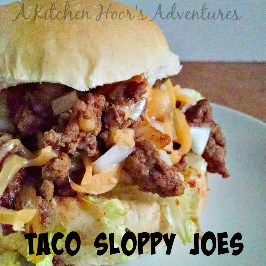 Taco meat is turned into a delicious and hearty sandwich for a quick and tasty weeknight meal. Taco Sloppy Joes will be your new favorite simple supper.