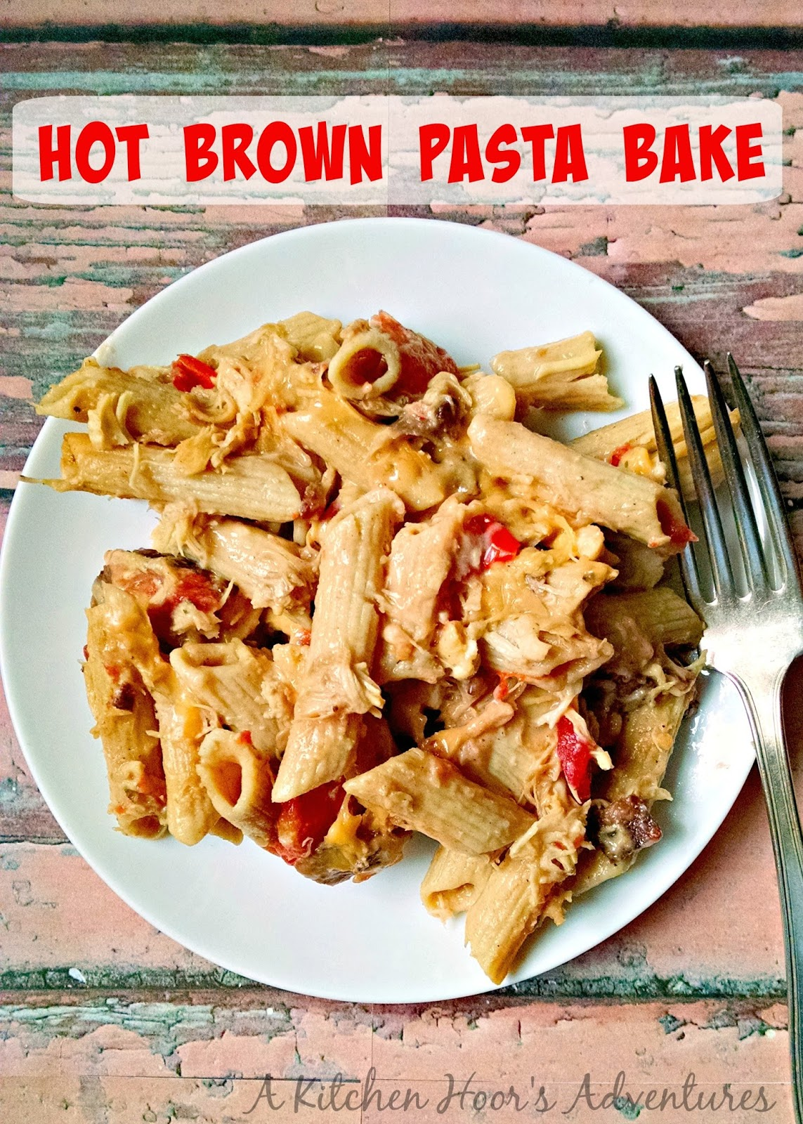 This Hot Brown Pasta Bake will be your new favorite leftovers recipe! I've taken the tasty flavors of my favorite leftover turkey dish, Hot Browns, and turned it into a delicious pasta casserole. Think, mac 'n cheese with turkey, bacon and tomatoes.