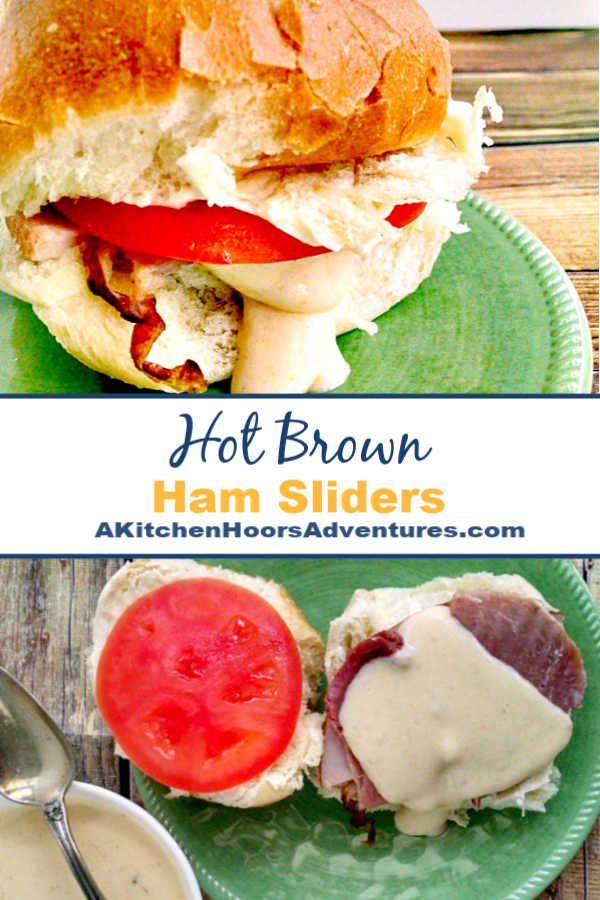 I've mashed up the Kentucky hot brown with the Virginia ham biscuit and made these deliciously simple Hot Brown Ham Sliders.