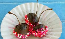 Brandy Infused Chocolate Dipped Cherries
