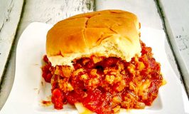 Chicken Fajita Sloppy Joes