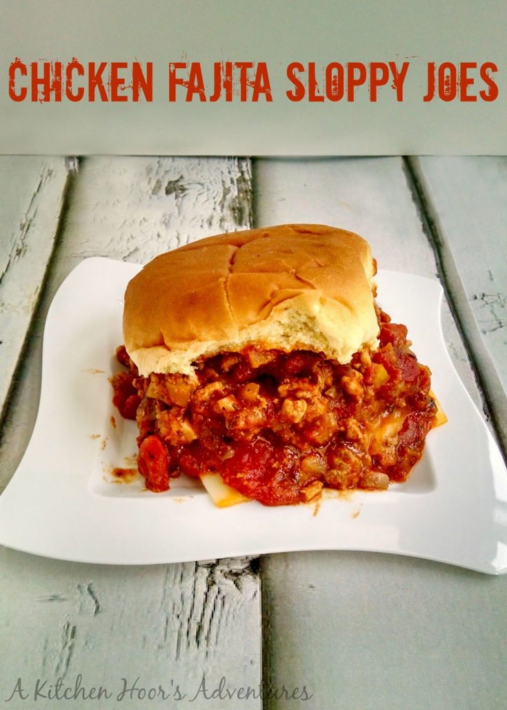 Fajita seasoning is the star in this simple and quick Chicken Fajita Sloppy Joe recipe. It was LICK THE PAN delicious. And I mean that. Don't say I didn't warn you…