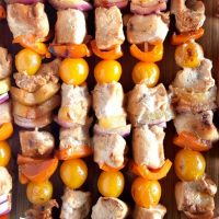 Hawaiian Chicken Kabobs