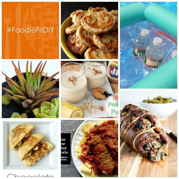 #FoodieFriDIY - Delicious meats, Elvis paninis, noodle coolers, and crafty DIYs.