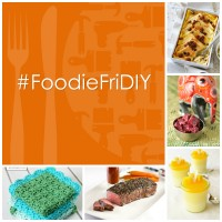 #FoodieFriDIY – Blueberry, Beet, Bread Pudding and a Dish Cloth
