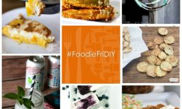 FoodieFriDIY - Peaches, School Snacks, and Leather Wraps