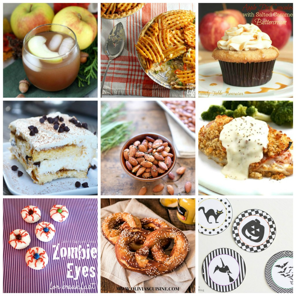 #FoodieFriDIY #66 - Zombie Eyes, Apple Cider Punch, and Waffle Fry Pot Pie