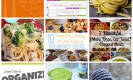 Round up of features from #FoodieFriDIY #77 | Healthy recipes, crochet hat, organize your house, track food.