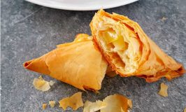 Apple Brie Triangles