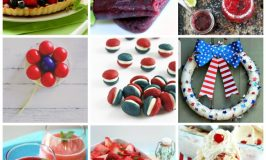 #FoodieFriDIY Red White and Blue