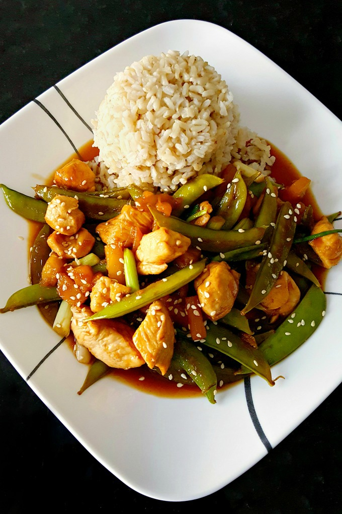 Hawaiian Sticky Chicken is a little sweet, sour, spicy, and crunchy but it's packed with amazing texture and flavor.