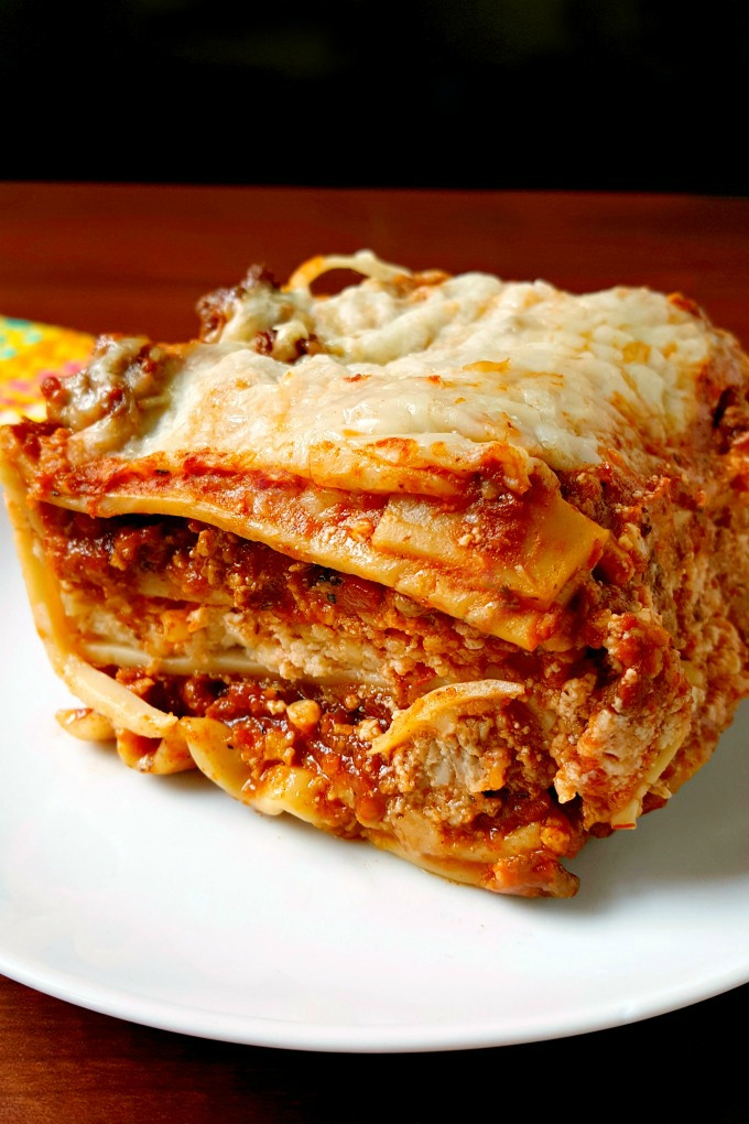 This Lasagna with Love is perfect for a #SundaySupper because you can't rush the love you put into making this amazingly delicious and addictive dish that's been my favorite since I was a kid.