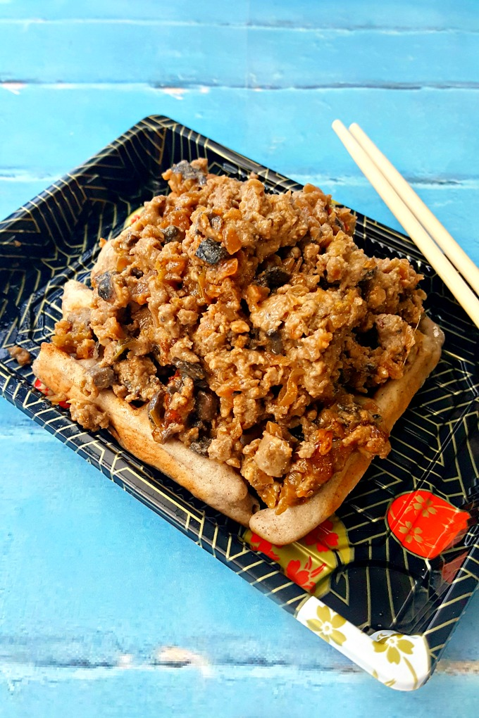 With all the ingredients of a delicious dumpling, these Potsticker Sloppy Joes taste like your favorite dim sum in a quick and delicious sloppy joe recipe.