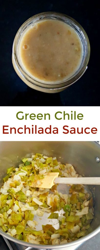 With just a few, simple ingredients, you can make a delicious Green Chile Enchilada Sauce worthy of any southwest restaurant.