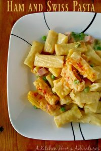 Ham and Swiss Pasta