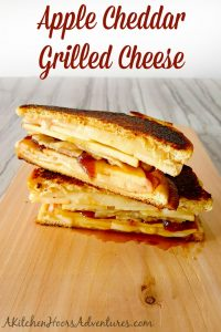 Apple Cheddar Grilled Cheese
