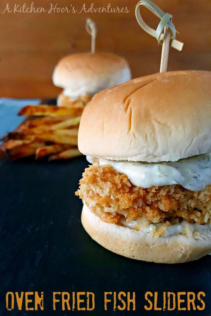A craving for a fried fish sandwich inspired these super crispy, Oven Fried Fish Sliders. The crunch alone will get you addicted to these flavorful and healthier fish sandwiches.