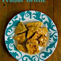 Homemade Easy Peanut Brittle